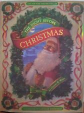 New Large T'was the Night Before Christmas Illustrated Hardcover Book