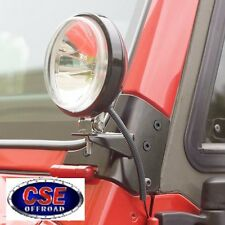 Windshield Light Brackets for Jeep Wrangler 1997-2006 PAIR 11027.02 Rugged Ridge