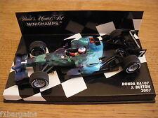 Minichamps 1/43 Honda RA107 Jenson Button 2007 *RARE*