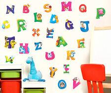 Hot 26 Animals Alphabet Educational Wall Sticker Kids Nursery Room Decor DecalO