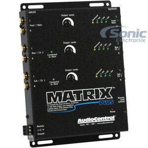 AudioControl MATRIX-PLUS High Voltage Programmable 6-Channel Line Driver