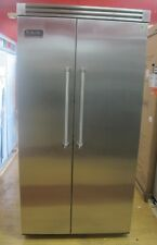 Viking Professional Series  VCSB423SS 42 Inch Built-in Side by Side Refrigerator