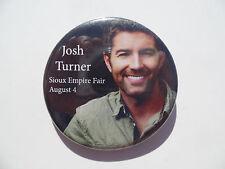 Josh Turner Button Sioux Empire Fair South Dakota