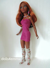 Tiffany Taylor Doll Clothes HM Dress Thigh-Highs & Jewelry Fashion NO DOLL d4e