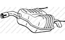 BOSAL Silencioso posterior OPEL VECTRA VAUXHALL 185-461