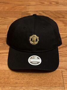 NWOT FIFA Manchester United FC Gold Plate Womens Soccer Hat Cap New Era 9Twenty