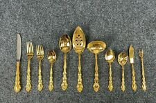 * Oneida Community * Gold Beethoven Gold Electroplate Flatware Your Choice New