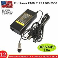 Electric Skip Scooter Battery Charger for Razor e300 Pocket Mod Dirt Quad 36V PL