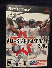 All-Star Baseball 2002 Derek Jeter Yankees Cover Sony PS2 Classic Game 2001