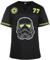 Star Wars Trooper '77 Scrub Top Men's V-Neck S, L, XL, 3XL Cherokee Tooniforms