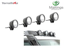 LAND ROVER DISCOVERY 3 ROOF RACK LIGHTS DISCOVERY 4 ROOF RACK SPOT LIGHTS X4 04-
