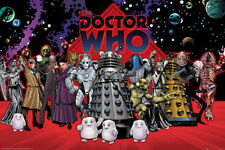 Doctor Who Character Compilation 36 x 24 Inch Poster - David Tennant