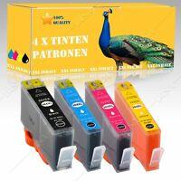 4x Nicht-OEM Tinte alternative für HP Photosmart Premium C410B C410C C410D H038