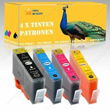 4x NO OEM Tinta incl. alternativa para HP Photosmart E all-in-one B110c