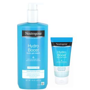 Neutrogena Hydro Boost Body Gel Cream + HAND GEL Hyaluronic Acid Normal To Dry
