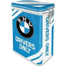 BMW Driver Aromadose With Clamp Lock Storage Hoard Box Metal, New