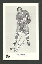 Guy Trottier Vintage Toronto Maple Leafs 1970s Hockey Postcard NM