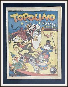 ⭐️ TOPOLINO GIORNALE # 209 - Disney Speciale Natale 1936 - DISNEYANA.IT ⭐️