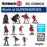 NEW! SCHLEICH PLASTIC FIGURES DC COMICS SUPER HEROES RANGE! BATMAN, SUPERMAN....