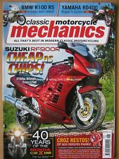 Classic Motorcycle Mechanics June 2018 Suzuki RF900R BMW R100 RS Yamaha RD400