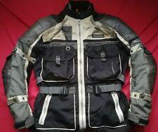 HEIN GERICKE TUAREG RALLYE GTX GORETEX ADVENTURE MOTORBIKE JACKET XL 44 46 CHEST