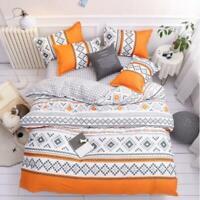 3D Orange Rhombus ZHUA2889 Bed Pillowcases Quilt Duvet Cover Set Queen King Zoe