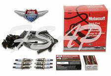 Set of Motorcraft Spark Plug Wire Set WR6096 + 6 Motorcraft Spark Plug SP412