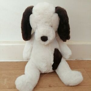 Jellycat Puffles Puppy Plush New Tagged Baby Comforter Dog Cream Brown Soft Toy