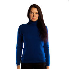 Cashmere Polo Neck Thin Knit Jumpers & Cardigans for Women