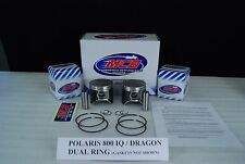POLARIS 800 AXYS PRO RMK INDY RUSH SWITCHBACK MCB DUAL RING TOP END PISTON KIT