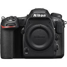 Brand New Nikon D500 20.9MP DX-Format CMOS Sensor 4K Video Digital SLR Body Only