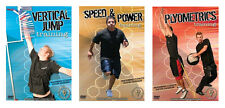 Sports Training 3 DVD Set (Plyometrics, Vertical Jump, Speed and Power) (New!)