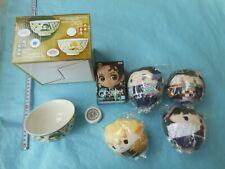 japan anime Demon Slayer: Kimetsu no Yaiba Raice Bowl / Plush toy set (y1 386