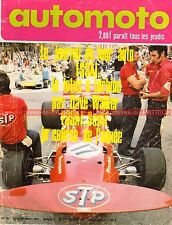 AUTO MOTO JOURNAL 35 SCOTT 600 YAMAHA 650 XS 2 LOTUS 56 B Grand National 1971