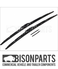*FITS IVECO DAILY (1990 - 2014) WIPER BLADES WITH WASHER JETS BB24W X 2