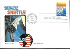 US Space FDC Cover 1981. Shuttle Columbia STS-1. Philswiss ##08