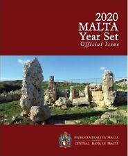 Coffret BU Malte 2020 avec 2 Euros Temple Ta Skorba (Poinçon F)