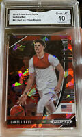 2020-21 Panini Prizm Lamelo Ball Rookie Red Ice Cracked #43 GEM MINT 10 Hornets