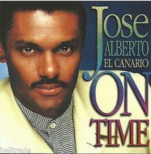 """JOSE ALBERTO """"EL CANARIO"""" / ON TIME * NEW CD * NEU *"""