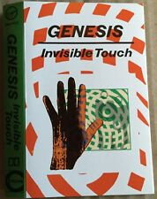 GENESIS Invisible Touch ORIGINAL 1986 UK cassette VIRGIN label PLAY TESTED   Ex!