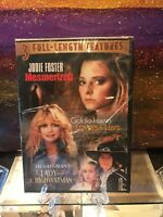 DVD 3 FULL LENGTH FEATURES MESMERIZED LOVERS & LIARS. Goldie Hawn, Jodie Foster.