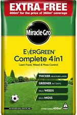 More details for miracle gro evergreen complete 4 in 1 lawn food weed & moss control feed 400sqm