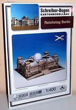 Caja de cartón + modellbau reichstag Berlín Schreiber-Bogen 642 cardboard Modelling