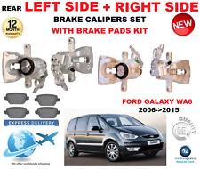 für FORD GALAXY WA6 MPV 2006-2015 2x HA LINKS+rechts Bremssattel + Belag