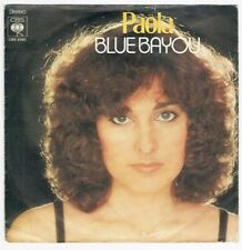 "Paola - Blue Bayou (""Roy Orbison"" Coverversion) / Juke Box / Single von 1978"