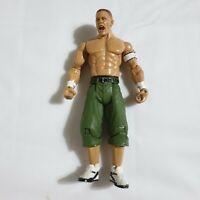 WWE WWF John Cena 2003 Wrestling Figure Jakks Green Shorts