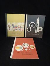 """Grade School Science Text/work book lot 1965 """"Thinking ahead in Science"""" Series"""