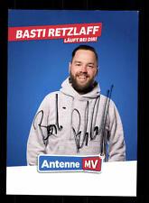 Basti Retzlaff Autogrammkarte Original Signiert # BC 110143