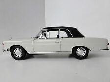 Mercedes-Benz 280 SE Cabriolet 1968 1/18 Norev 183530 Mercedes W111 W 111 280SE