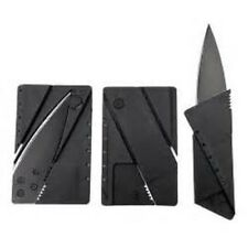 2 Folding Credit Card Knives Fits In Wallet